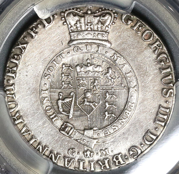 1807 PCGS AU Det 2/3 Thaler George III Hannover Brunswick-Luneburg Silver Coin (20041303C)