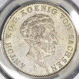 1831-S PCGS AU 55 Saxony Thaler German State Silver Coin (18120101C)