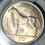 1954 PCGS MS 65 Ireland 1/2 Crown Race Horse Mint State Irish Key Date Coin (19091103C)