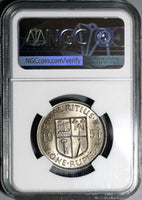 1951 NGC MS 65 Mauritius Rupee George VI Mint State Coin (21020402C)
