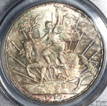 1910 PCGS MS 64 Mexico Horse Peso Cabalito Silver Mint State Coin (18041205D)