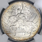 1913 NGC MS 64 Mexico Peso Cabalito Horse Mint State Silver Dollar Coin (19012702C)