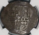 1607-MoF NGC VF 20 Mexico 8 Reales Philip III Cob Spain Colonial Coin (21011601C)