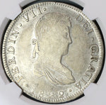 1822-Go NGC VF 30 War Independence Guanajuato 8 Reales Mexico Scarce Silver Coin (19100403C)