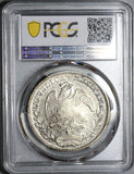 1825-Zs PCGS AU 53 Mexico 8 Reales Zacatecas Scarce Silver Coin (19120901D)