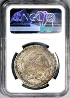 1833-Zs NGC MS 61 MEXICO Silver 8 Reales Scarce Grade POP 1/5 Coin (18061601C)