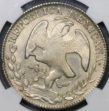 1840-Pi JS NGC MS 63 Mexico 8 Reales Very Scarce Potosi Silver Coin (19081202C)