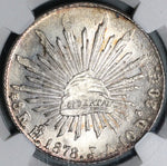1878-Ho NGC MS 64 Mexico 8 Reales Hermosillo Silver Coin POP 3/2 (21030303D)