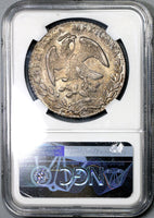 1884/3-Ca NGC MS 63 Mexico 8 Reales Silver Coin POP 2/4 (18101801D)