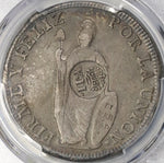 1834-1837 PCGS VF 30 Philippines Counterstamp 1833 Peru 8 Reales (18073101C)