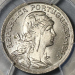 1947 PCGS MS 66 Portugal 50 Centavos Liberty Head Coin POP 3/0 (21042902C)