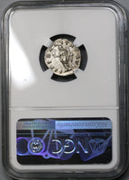 175 NGC XF Commodus Caesar Roman Empire Denarius Liberalitas Unpublished Variety (19043001C)