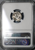 70 NGC Ch AU Vespasian Roman Empire Denarius Religious Ceremony Implements (20060201C)
