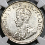 1936 NGC AU 55 South Africa 2 1/2 Shillings 1/2 Crown Silver Coin (19100902R)