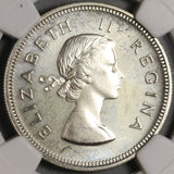 1959 NGC PF 66  South Africa Proof 2 Shillings Silver 900 Coins (21012803C)