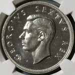 1952 NGC PF 66 South Africa 5 Shillings Capetown Silver Proof Coin (19101102C)
