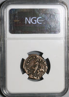 1604 NGC VF 30 Spain 4 Maravedis Philip III Burgos Double Struck Error Coin (21012403C)