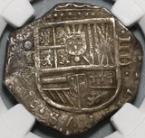 1613-C NGC VF 35 Spain 4 Reales Toledo Mint Cob Silver Coin POP 1/0 (20021004C)