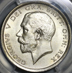 1920 PCGS MS 64 1/2 Crown George V Great Britain Silver Coin (21021001D)
