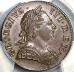 1770 PCGS MS 63 George III 1/2 Penny Great Britain Mint State Colonial Coin (19081702C)