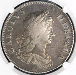 1662 NGC VF 20 Charles II Crown England Great Britain Silver Rose Coin (19081701C)