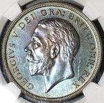 1927 NGC PF 65  Wreath Crown George V Great Britain Proof Coin 15k (16011702D)