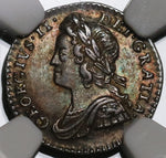 1743 NGC MS 63 George II Silver Penny Great Britain Mint State Coin (20091902C)