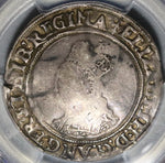 1560 Elizabeth I Shilling Great Britain England Silver Coin PCGS VF Det (20061801C)