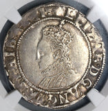 1590 Elizabeth I Shilling Great Britain Silver Coin NGC VF 30 (19072302C)