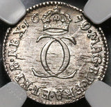 1679 NGC MS 61 Charles II 2 Pence Legend Error Great Britain Silver Coin POP 1/0 (20052804C)