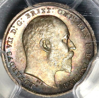 1908 PCGS PL 65 Edward VII 2 Pence Maundy Proof Like Great Britain Coin (20021804C)
