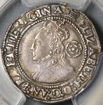 1566 PCGS XF 40 Elizabeth I 3 Pence Great Britain England Silver Coin POP 1/0 (21012001C)