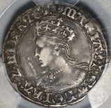 1553 PCGS VF 35 Queen Mary Groat 4 Pence Great Britain England Coin (20051904C)
