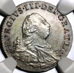 1800 MS 63 George III Maundy 4 Pence Groat Great Britain Silver Coin (20061802C)