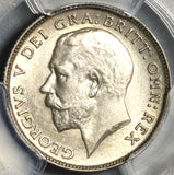1912 PCGS MS 62 George V 6 Pence Great Britain Sterling Silver Coin (20120202C)