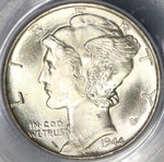 1944-D PCGS MS 66 FB Mercury Dime United States Silver Coin (19020609C)
