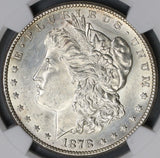 1878-S NGC UNC Details Morgan Silver Dollar Coin (19042103C)