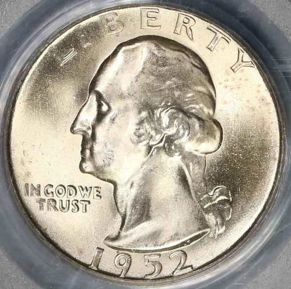 1952-S PCGS MS 66 Washington Quarter Dollar United States Coin (19020604C)