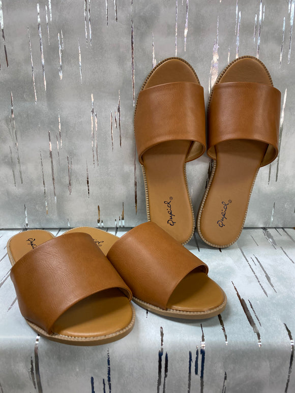 Qupid Desmond Sandals - Whitt & Co. Clothing