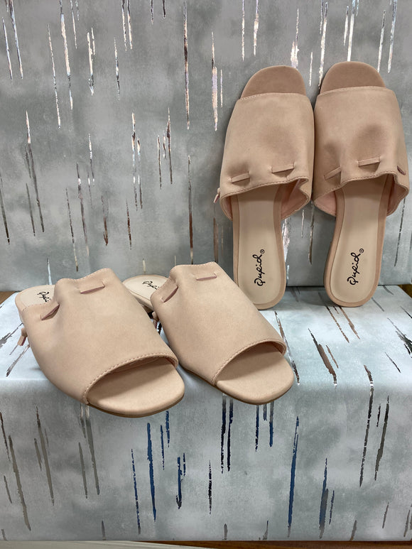 Qupid Ali Sandals - Whitt & Co. Clothing