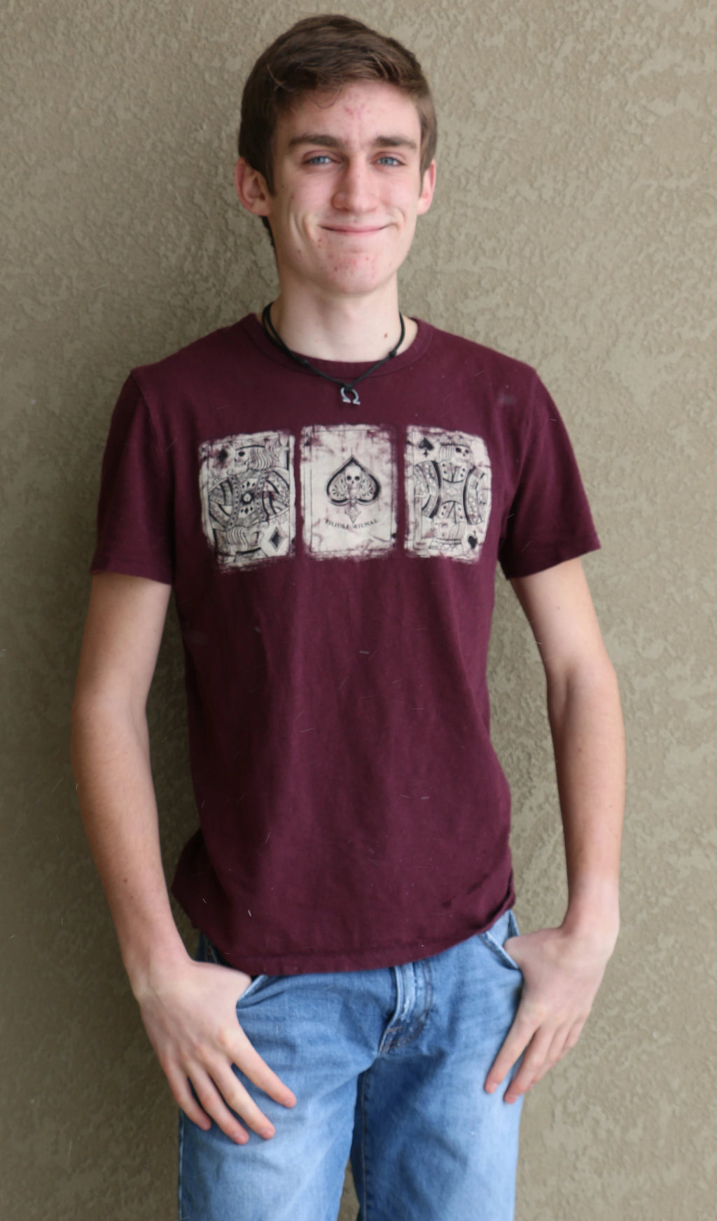 Lucky Brand Poker Card Tee-50% OFF - Whitt & Co. Clothing