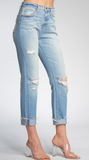 Elan Distressed Boyfriend Jean - Whitt & Co. Clothing