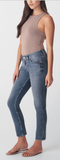 Silver Jean Elyse Curvy Fit Mid Rise Straight Leg - Whitt & Co. Clothing
