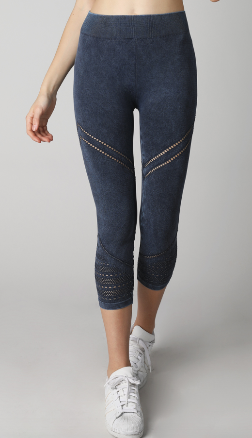 Nikibiki Capri Leggings - Whitt & Co. Clothing