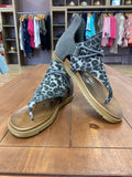 Very G Angelika Gray Leopard Sandal - Whitt & Co. Clothing
