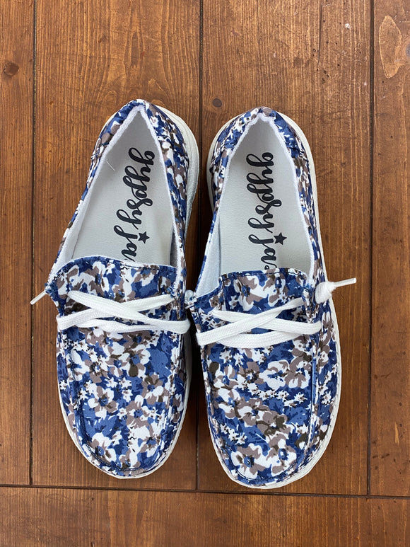 Gypsy Jazz Dahlia Blue Sneaker - Whitt & Co. Clothing