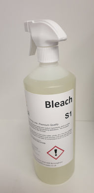 Bleach 5%  1 lit with dispenser