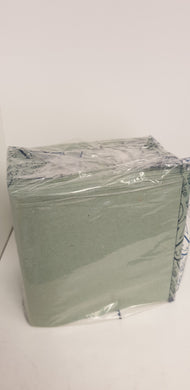 Hand towels - napkins green  30 cm box of 1000 pcs 2 ply CLEARANCE PRICE