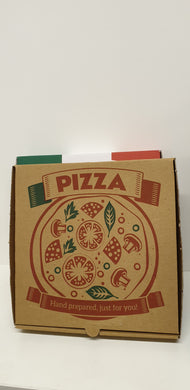 Pizza box brown  7 inch 100 pcs