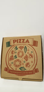 Pizza box brown 9 inch 100 pcs